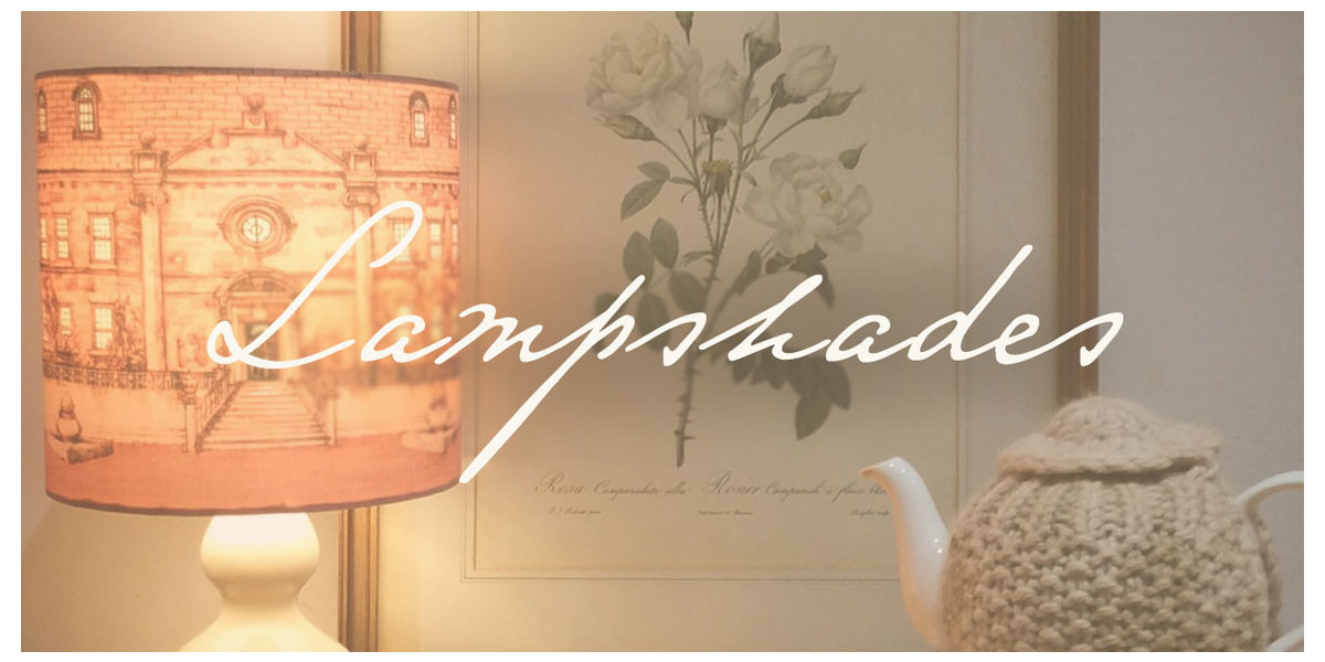 buy illustrated lampshades